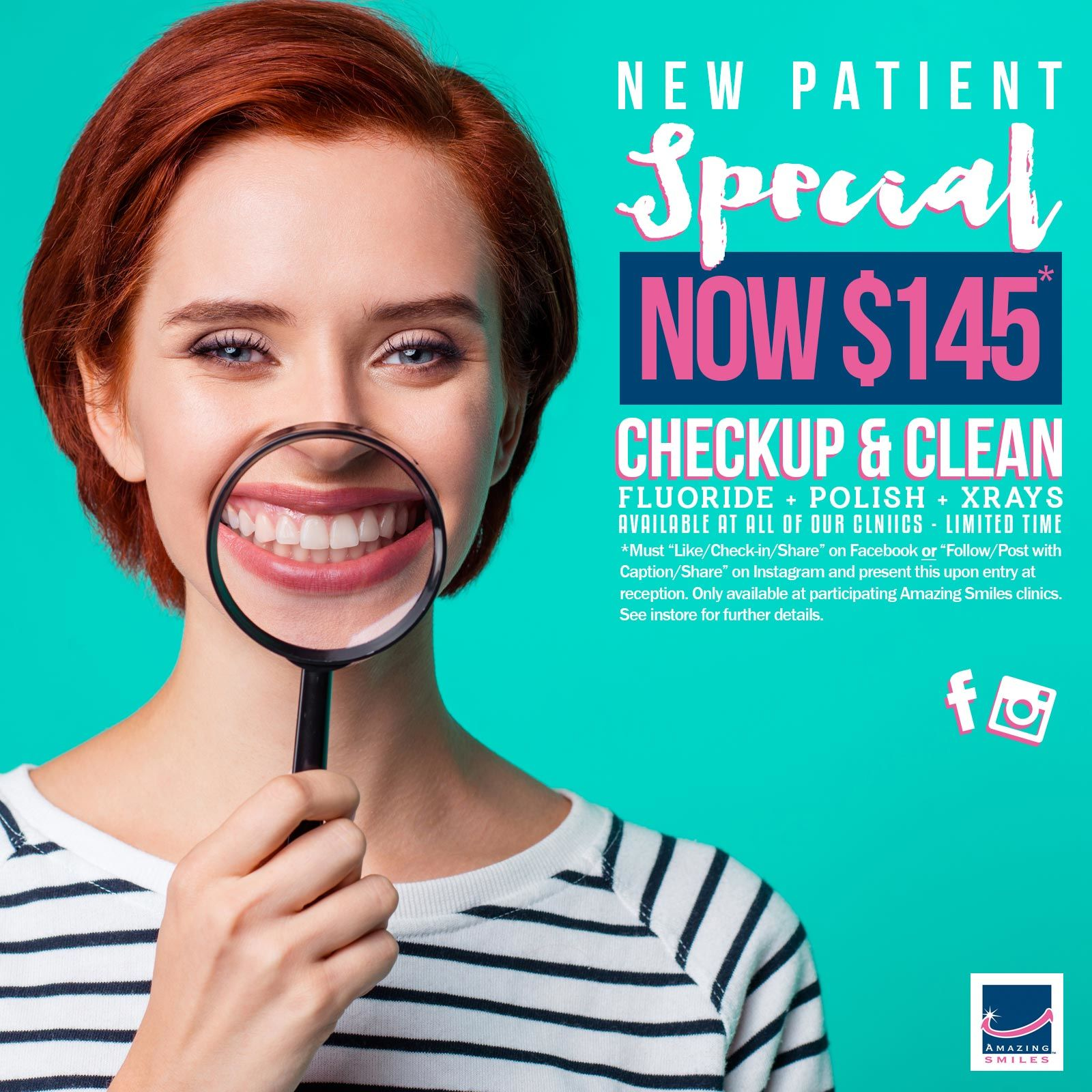 dental checkup and clean special offer