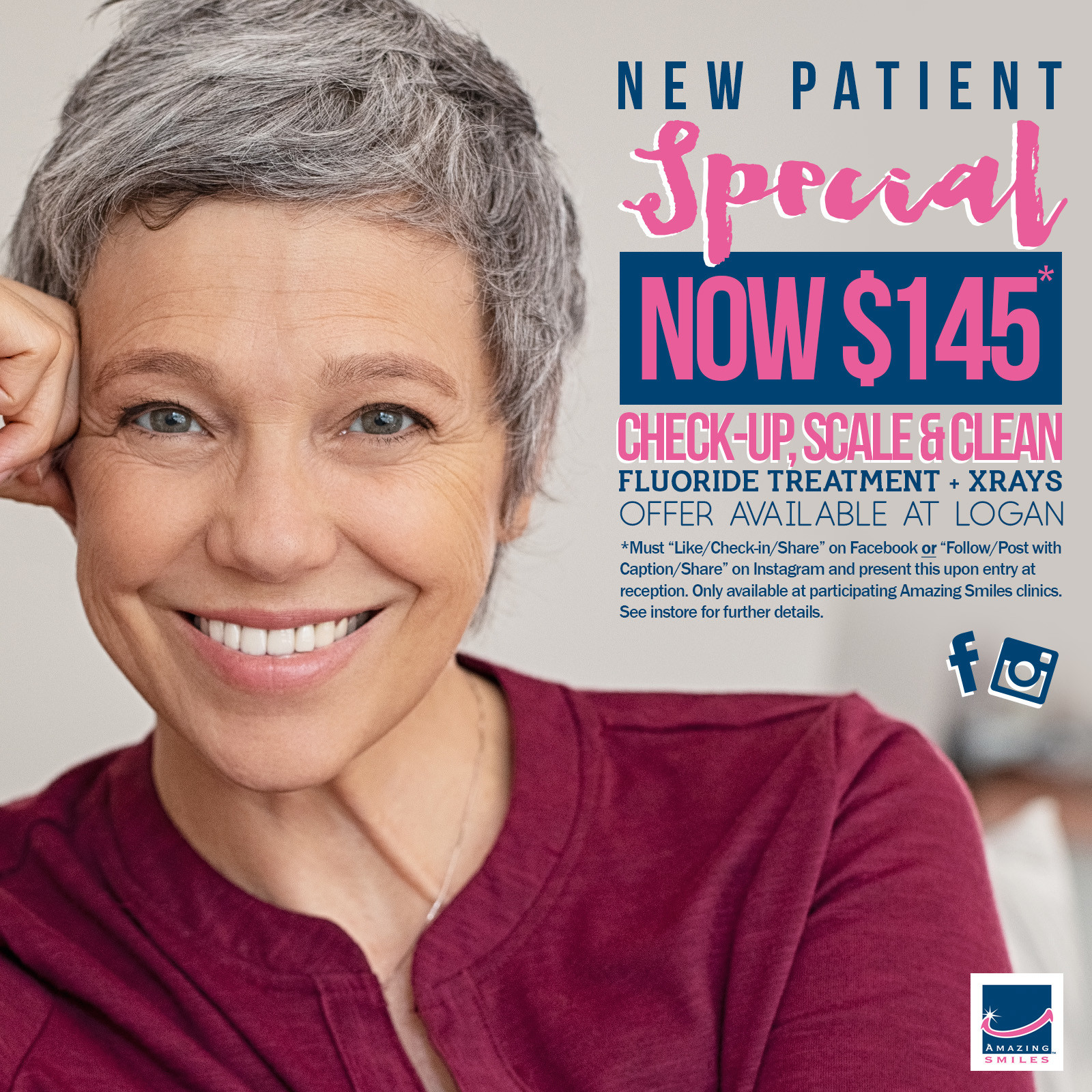 New Patient Special at Logan Dentist